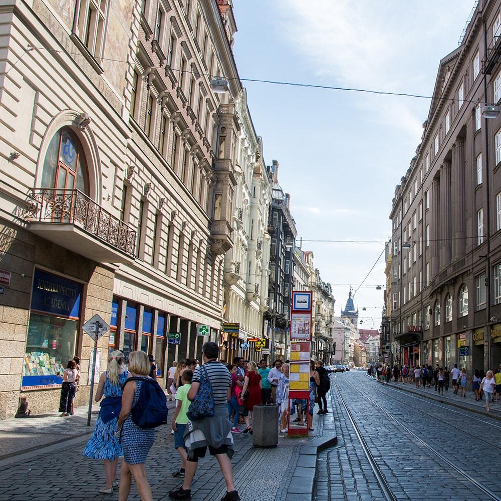 A street in Prague