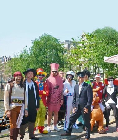 Guide to Stag Do Planning - Group in Fancy Dress
