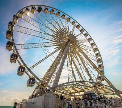 The big wheel in Brighton