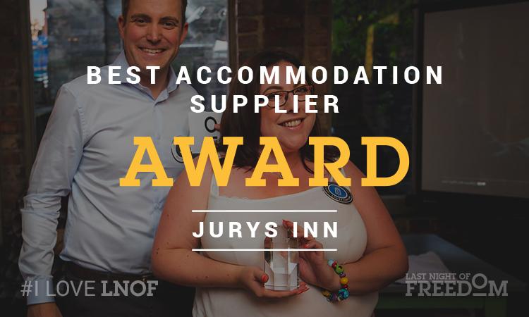 Jurys Inn's Louisa picks up LNOF's Best Accommodation Supplier Award