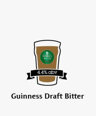 An illustration of Guinness Draft Bitter