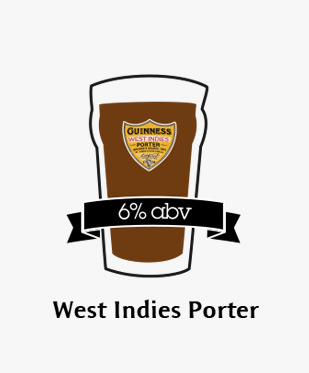 An illustration of West Indies Porter