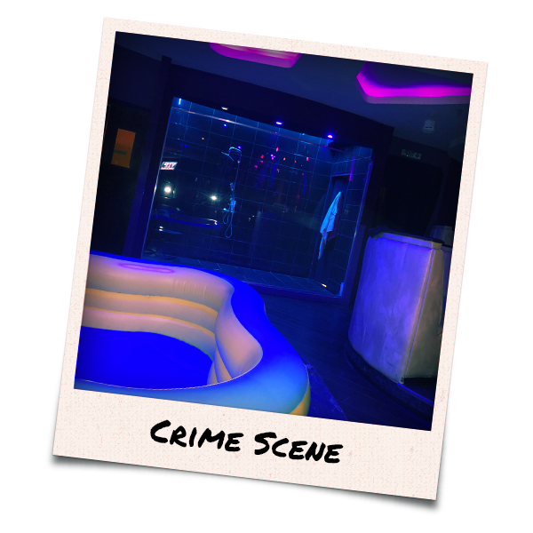 Interiors of 4Play Lounge with mud wrestling ring