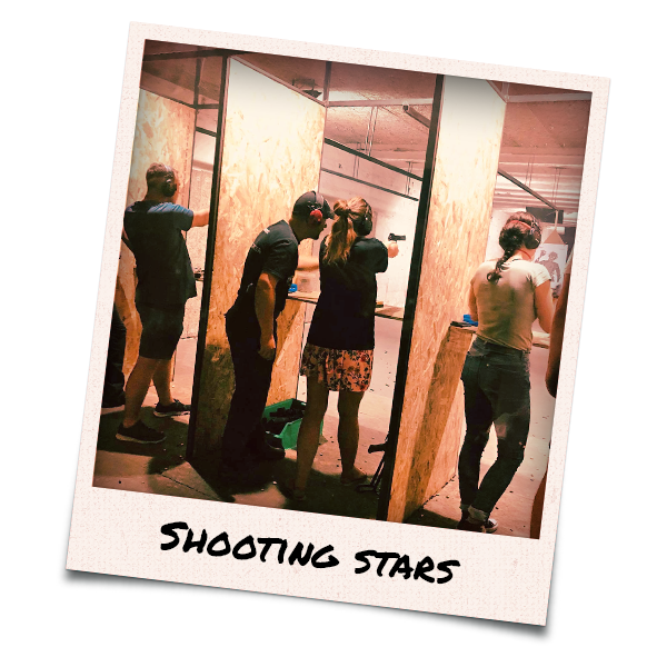 People in a shooting range