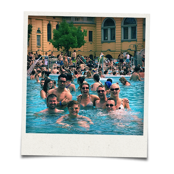 LNOF at the Szechenyi Baths