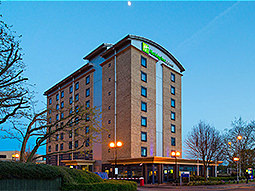 The exterior of the Holiday Inn Express Leeds City Centre