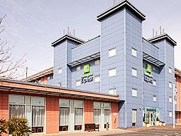 The exterior of Holiday Inn Express - Kassam Stadium