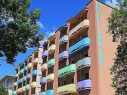 Exterior of Hotel Turist