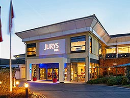 The exterior of the Jurys Inn in Oxford