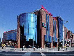 The exterior of the Mercure Centrum