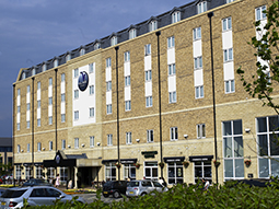 The exterior of Village Hotel Club Bournemouth