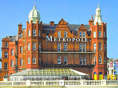 The Metropole Hotel exterior during the day