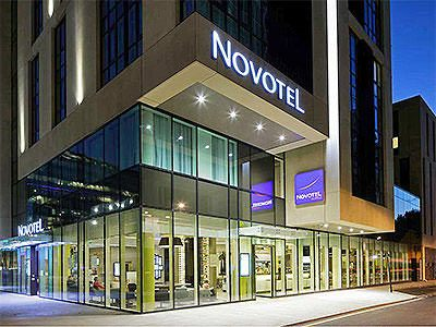 Novotel London Blackfriars Hotel Exterior