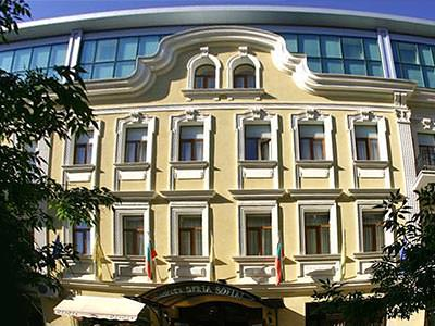 The exterior of Hotel Sveta Sofia