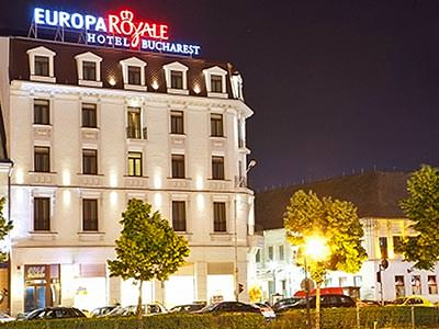 The exterior of Europa Royale Hotel and Restaurant