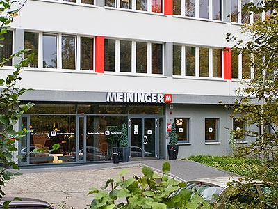 Exterior of the Meininger Hotel Hamburg City Centre during the day