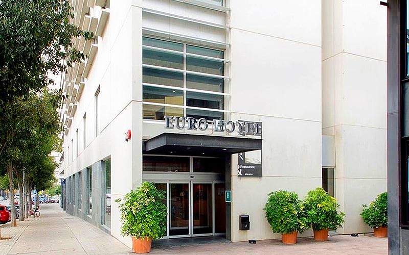 Exterior of Euro Hotel Diagonal Port during the day
