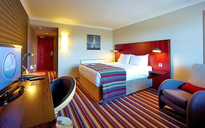 A hotel room at Village Hotel Club Chester St Davids