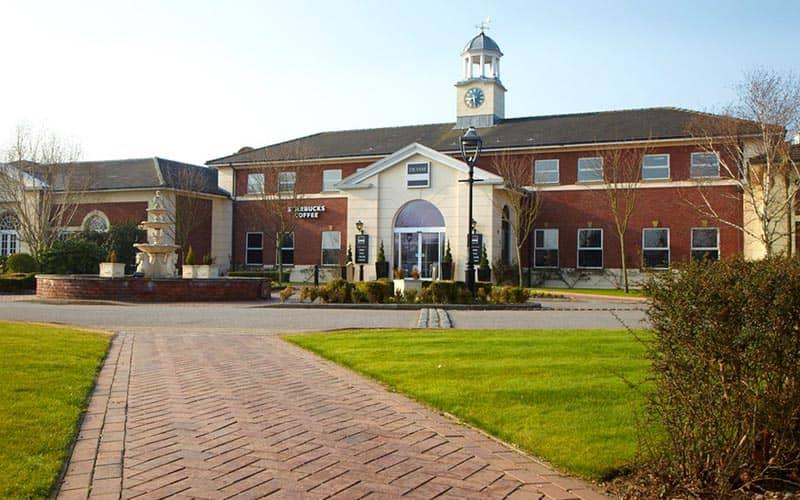 Exterior of Village Hotel Club Chester St Davids