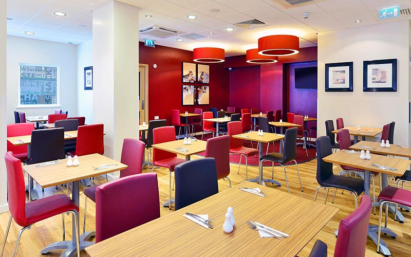 The restaurant at Travelodge Glasgow Queen Street