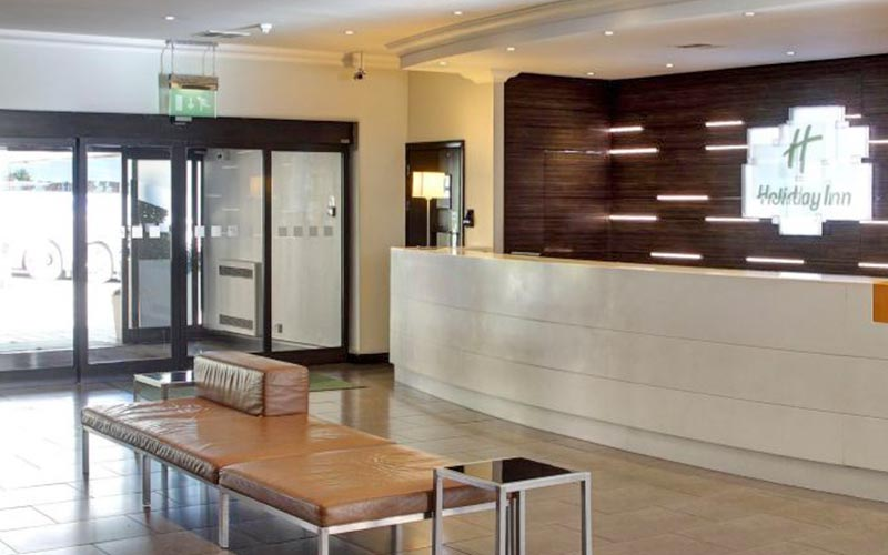 The reception area of Holiday Inn Bristol Filton