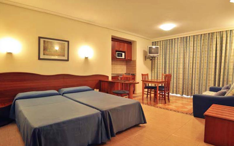 A double room within Blau Park Hotel