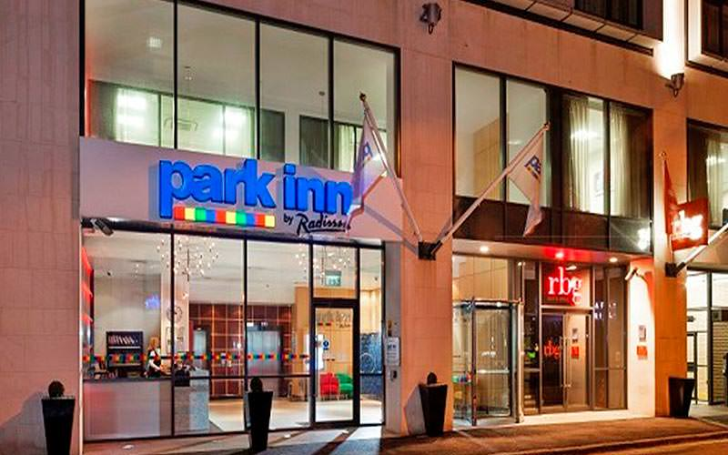The exterior of Park Inn by Radisson