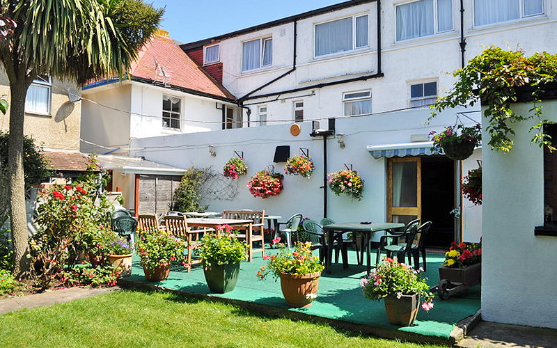 The exterior of The exterior of The Godolphin Arms Guesthouse Hotel