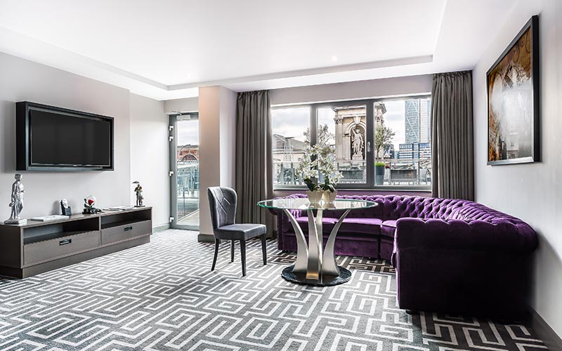 The roof top suite at Courthouse Hotel Shoreditch