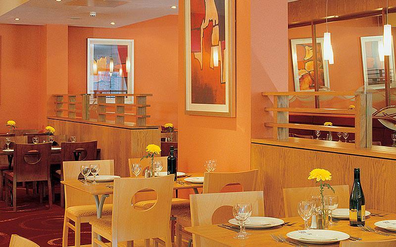 The dining area in Jurys Inn