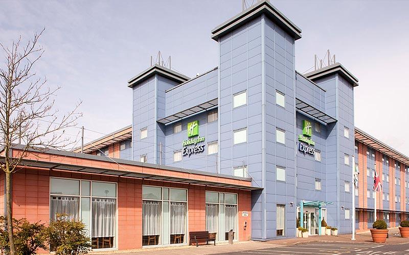The exterior of Holiday Inn Express - Kassam Stadium