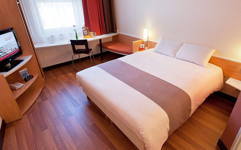 Example of a guestroom at Ibis Bratislava Centrum Hotel