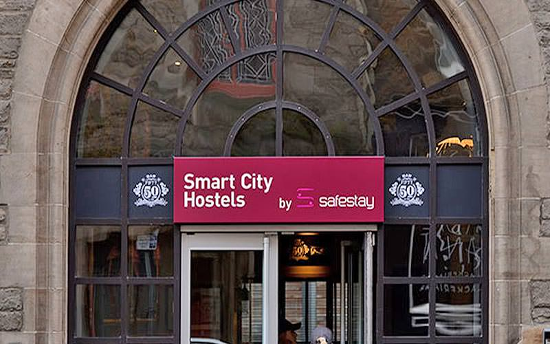 Smart City Hostel, Edinburgh, exterior