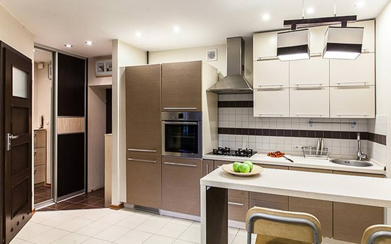 A modern kitchen at Apartment4you