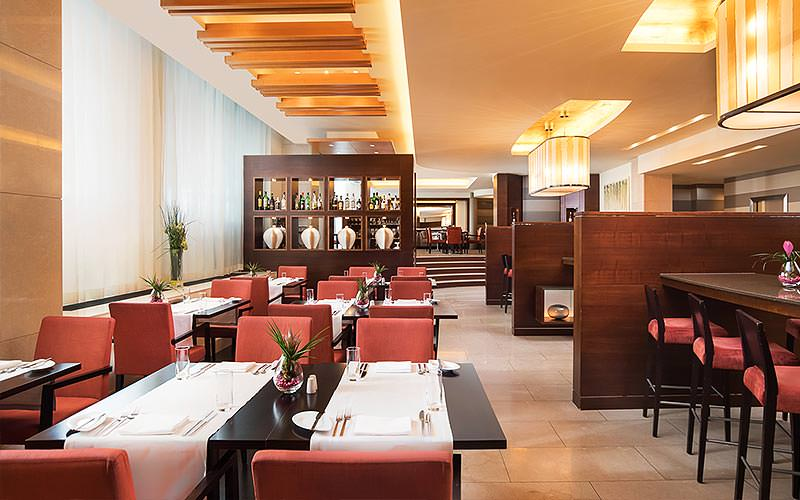 Dining area of the Sheraton Bratislava Hotel