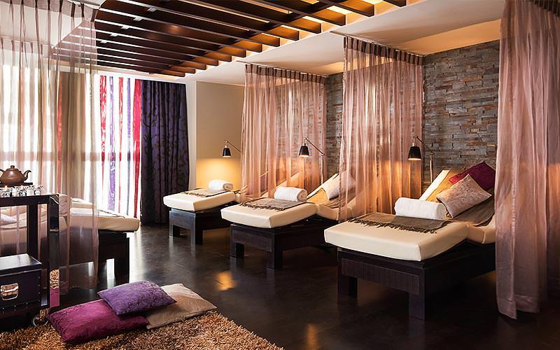 Spa facilities in the Sheraton Bratislava Hotel