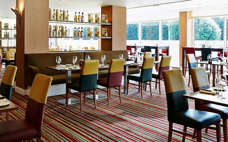 Restaurant at Marriott Hotel, Edinburgh