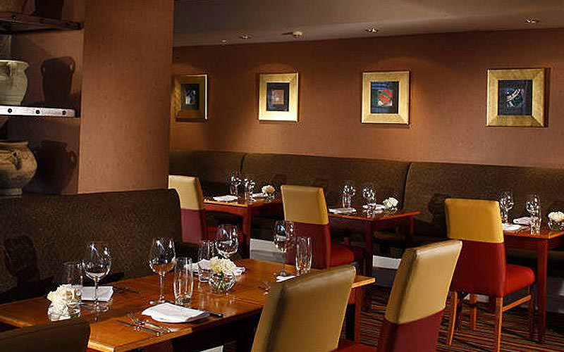 Restaurant at Marriott Hotel, Edinburgh