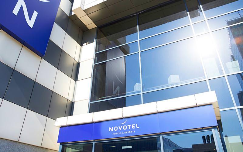 The exterior of Novotel
