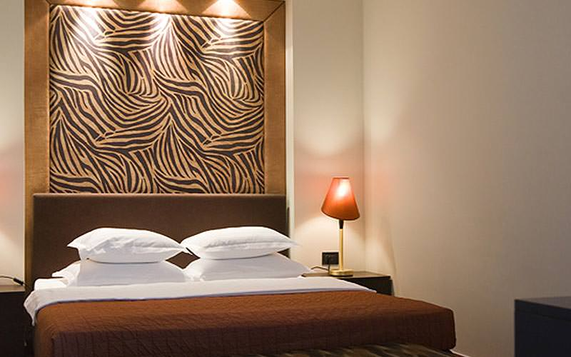 Example of a guest room at Hotel Jadran
