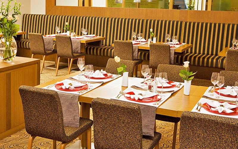 Dining area at Hotel International Zagreb
