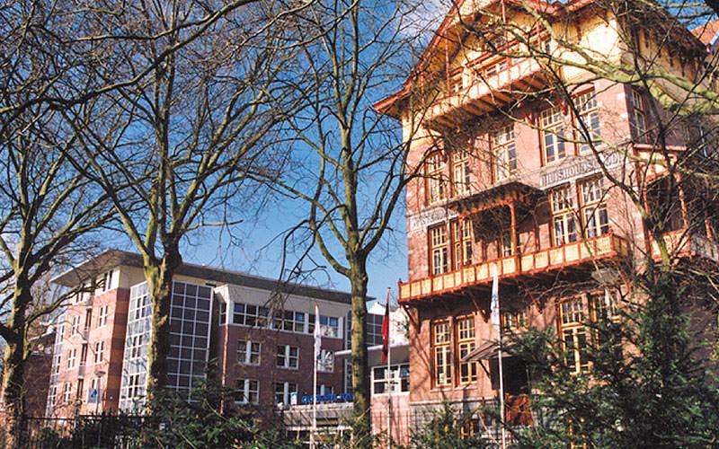 The exterior of Stayokay Vondelpark