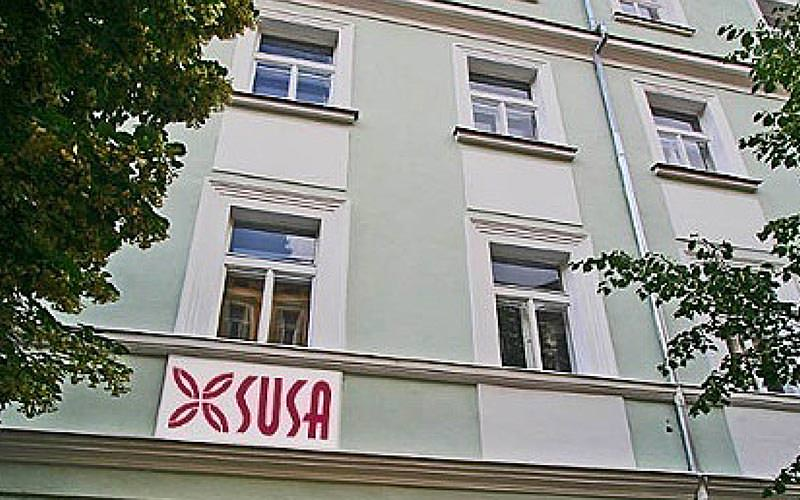 The exterior of Susa Aparthotel