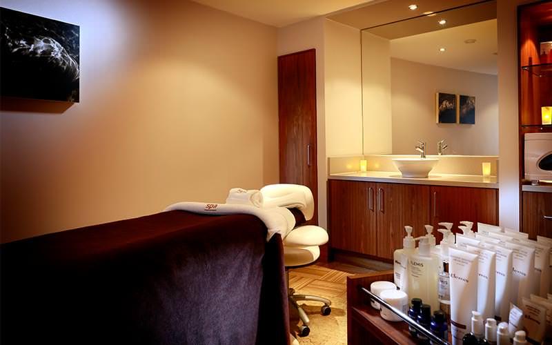 The Elemis spa within Macdonald Portal Hotel & Spa