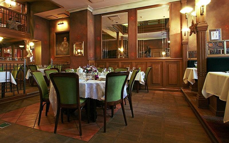 The restaurant in Hotel Polinia