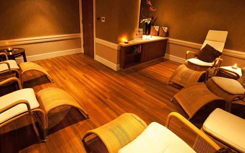 A relaxation room within Telford Hotel and Golf Resort, with lots of reclining chairs