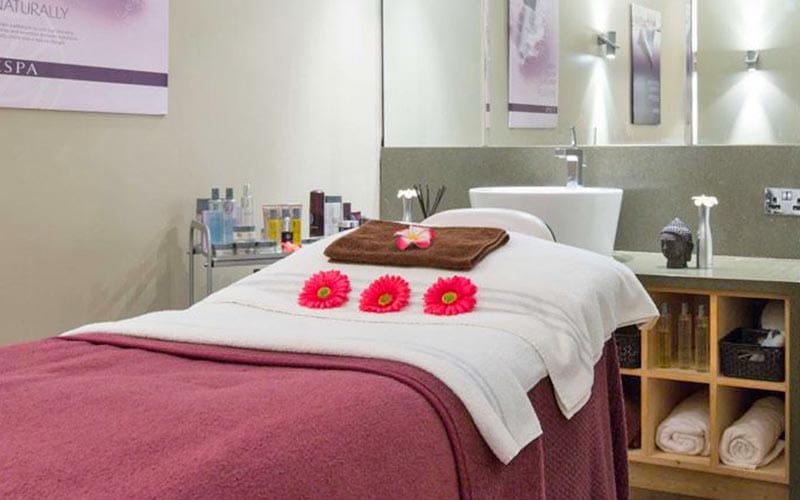 A beauty treatment room at Forest Pines Hotel & Golf Resort