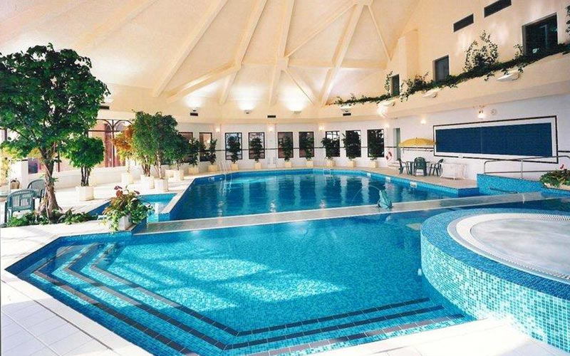 The swimming pool area in Westerwood Hotel and Golf Resort