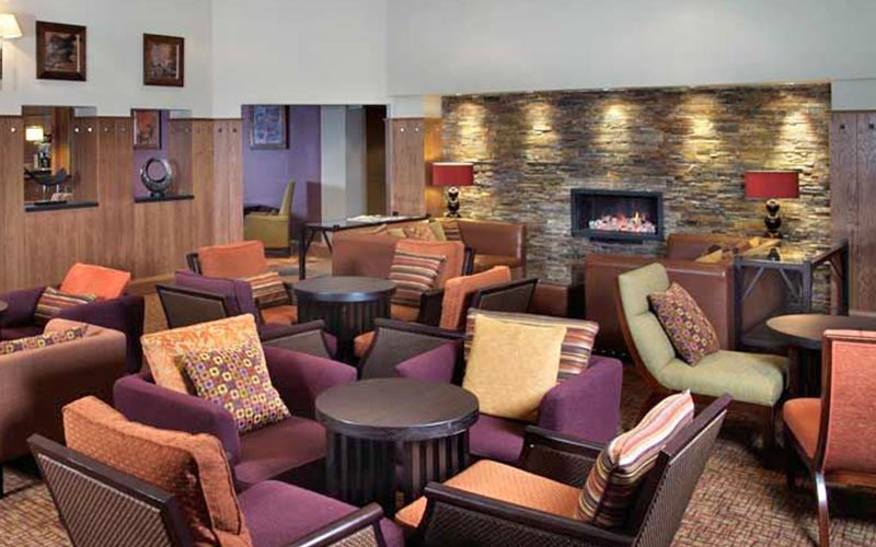 The seating area in Westerwood Hotel and Golf Resort