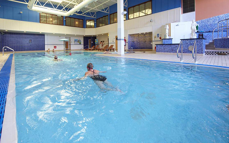 A large swimming pool in Blackpool's Village Urban Resort